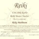 Usui Reiki Master Teacher