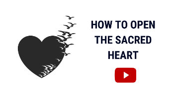 Open Your Heart | Open The Sacred Heart Not The Third Eye